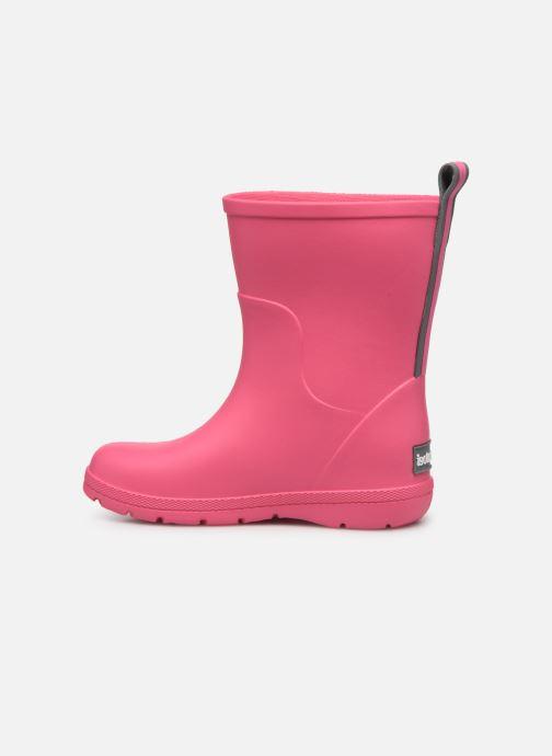 Støvler & gummistøvler Isotoner Botte de pluie Bébé Pink se forfra