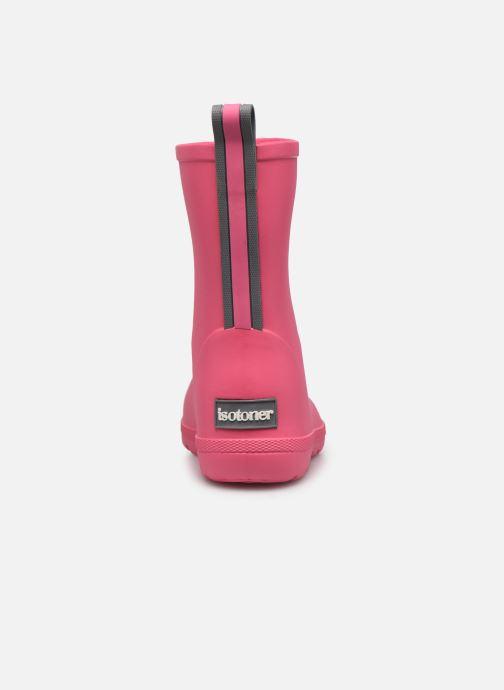 Støvler & gummistøvler Isotoner Botte de pluie Bébé Pink Se fra højre