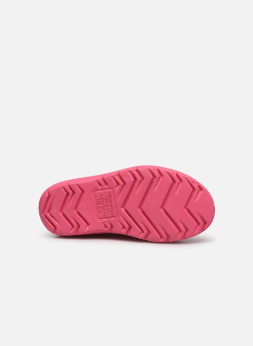 Boots & wellies Isotoner Botte de pluie Bébé Pink view from above