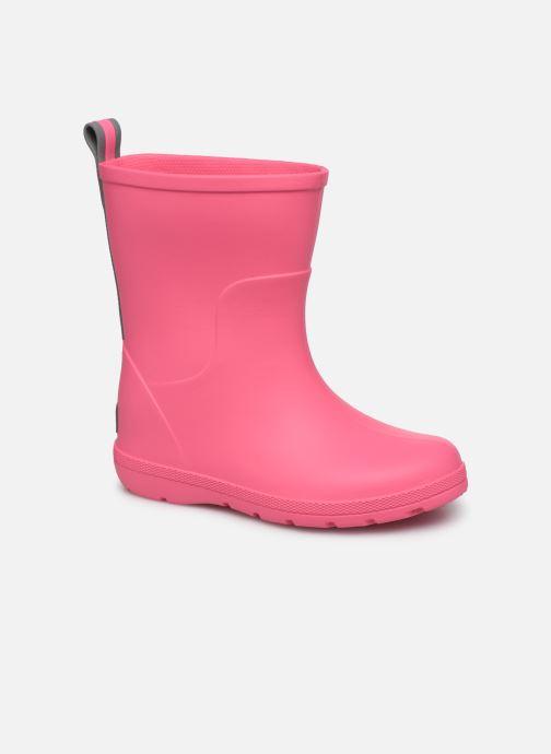 Støvler & gummistøvler Isotoner Botte de pluie Bébé Pink detaljeret billede af skoene