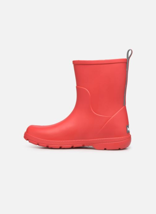 Stiefel Isotoner Botte de pluie Enfant rot ansicht von vorne