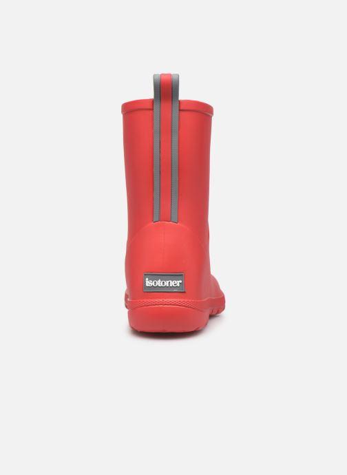 Støvler & gummistøvler Isotoner Botte de pluie Enfant Rød Se fra højre