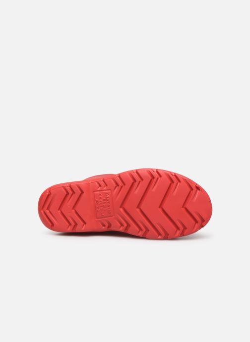 Stiefel Isotoner Botte de pluie Enfant rot ansicht von oben