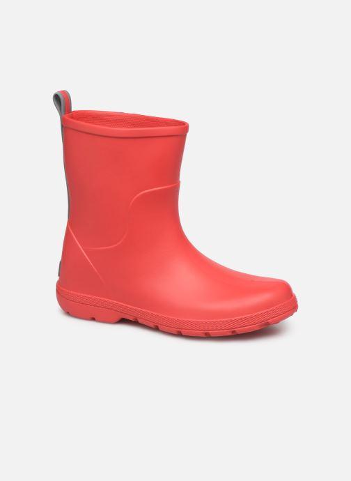 Støvler & gummistøvler Isotoner Botte de pluie Enfant Rød detaljeret billede af skoene