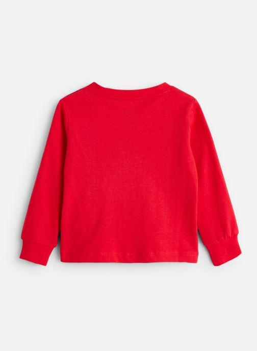 Vêtements Levi's T-Shirt NP10014 Rouge vue bas / vue portée sac