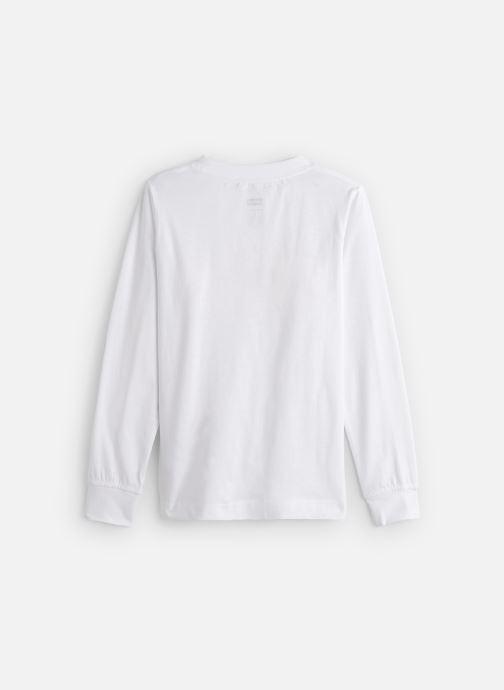 Vêtements Levi's T-Shirt NP10117 Blanc vue bas / vue portée sac