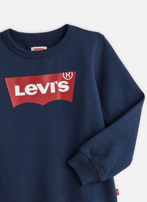Vêtements Levi's Sweat NP15077 Bleu vue portées chaussures