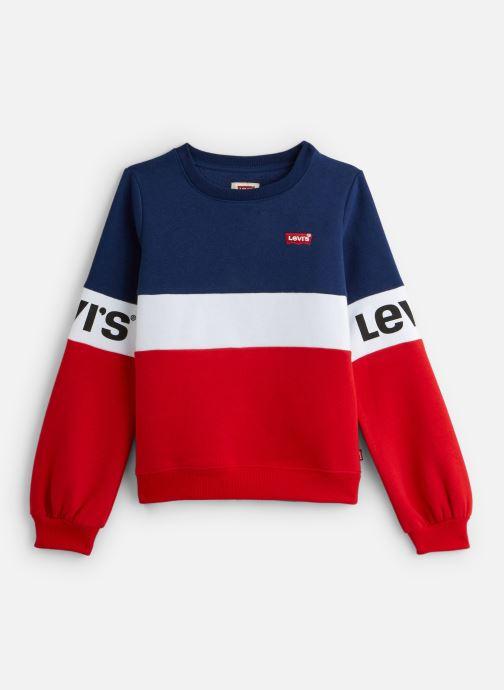 Vêtements Levi's Sweat NP15537 Rouge vue détail/paire