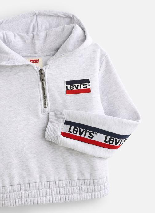 Vêtements Levi's Cardigan NP17517 Gris vue portées chaussures