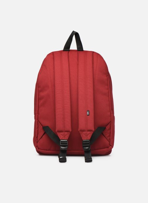 Sacs à dos Vans OLD SKOOL III BACKPACK Bordeaux vue face