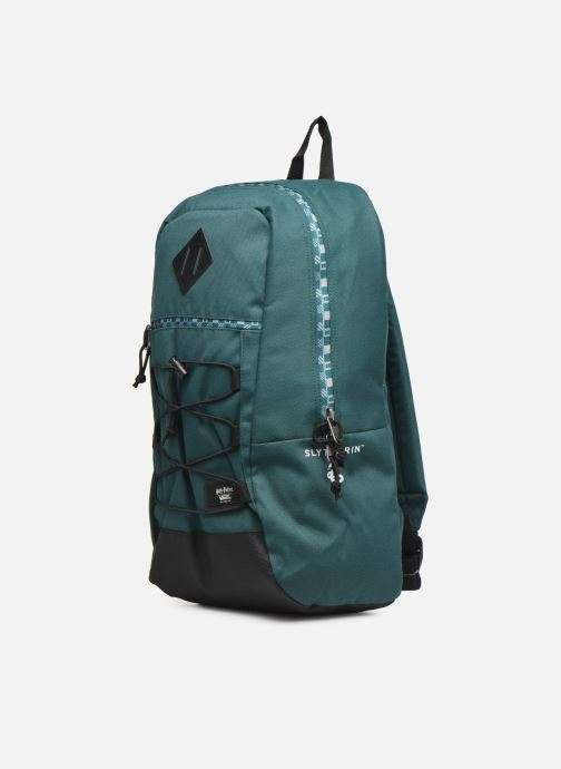 Zaini Vans SNAG BACKPACK Verde modello indossato