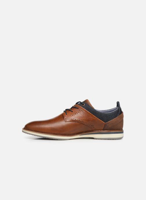 Chaussures à lacets Bullboxer ALBIN Marron vue face