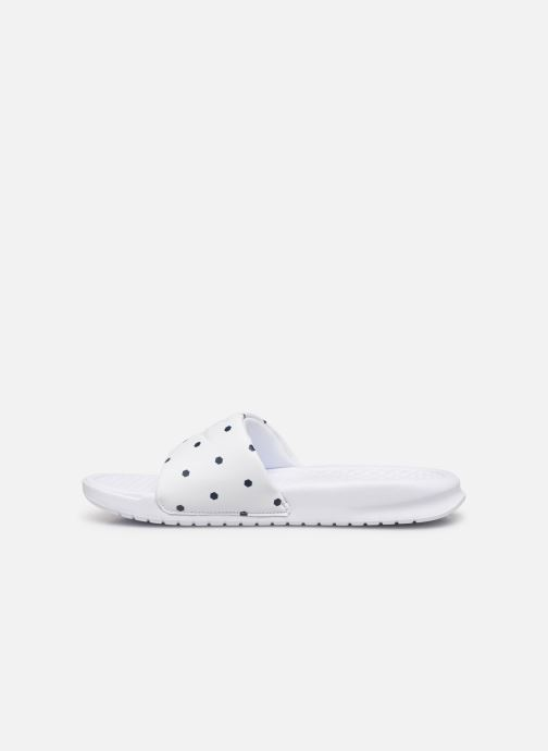 Mules & clogs Nike Benassi White front view