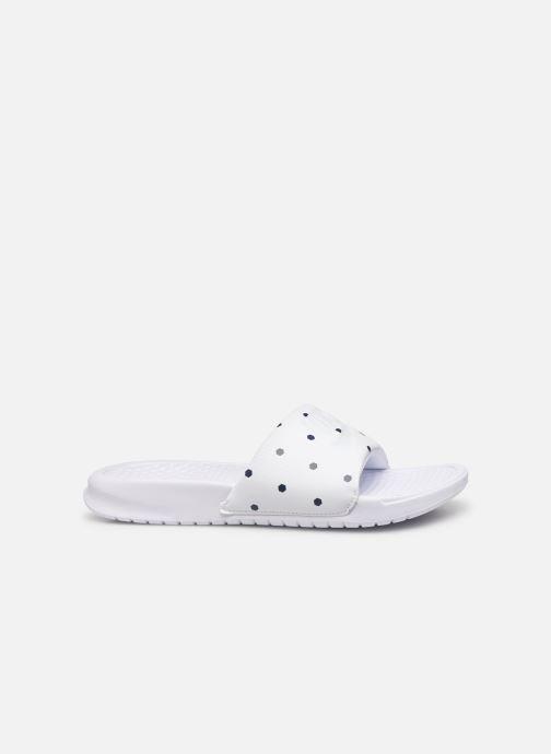 Mules & clogs Nike Benassi White back view