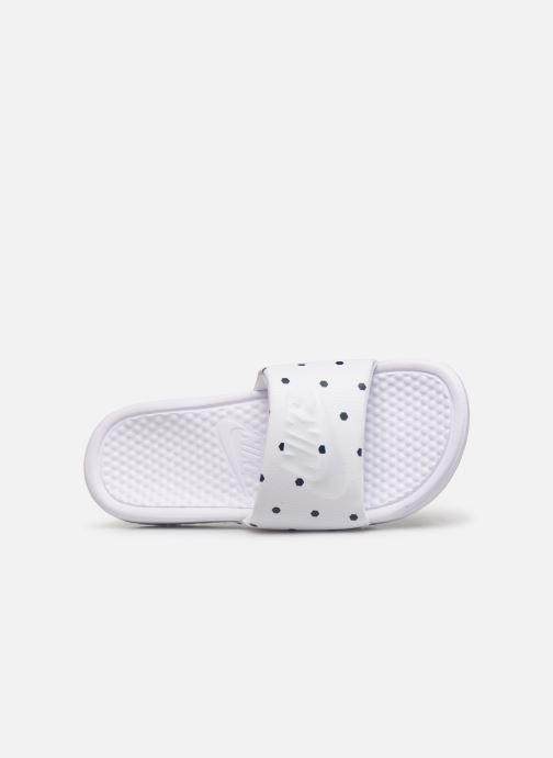 Mules & clogs Nike Benassi White view from the left
