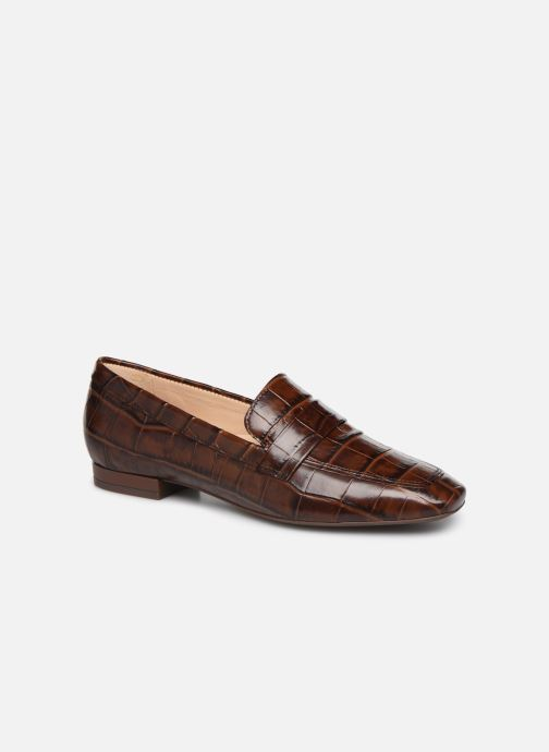Loafers Georgia Rose Walig soft Brown detailed view/ Pair view