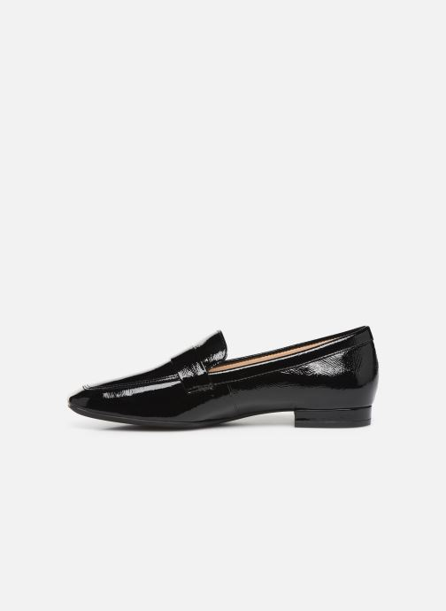 Loafers Georgia Rose Walig soft Black front view