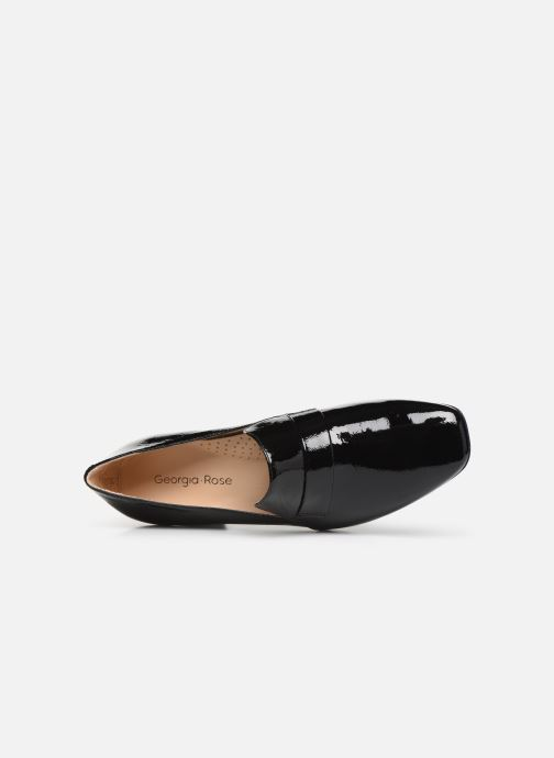 Loafers Georgia Rose Waheel soft Sort se fra venstre