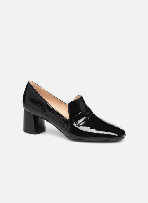 Loafers Georgia Rose Waheel soft Black detailed view/ Pair view