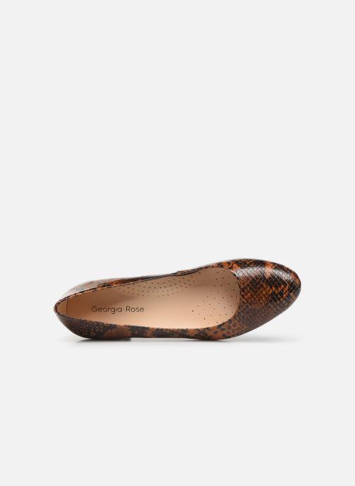 Zapatos de tacón Georgia Rose Wilowa soft Marrón vista lateral izquierda