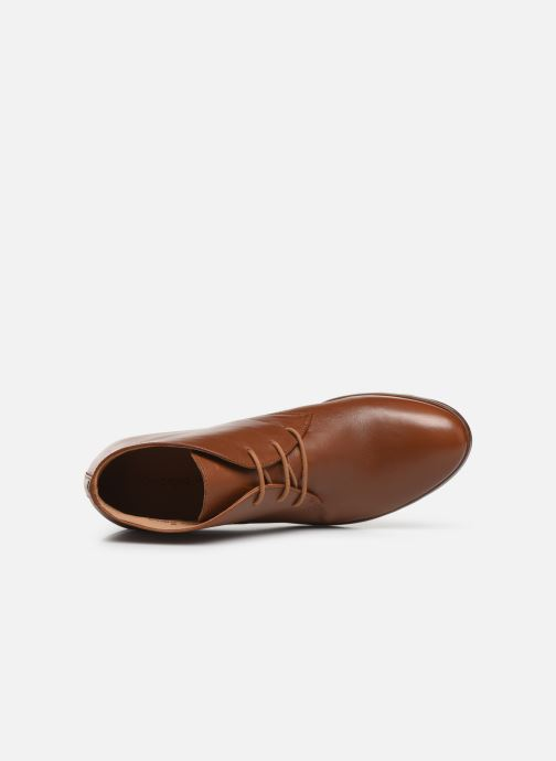 Chaussures à lacets Georgia Rose Walace Soft Marron vue gauche