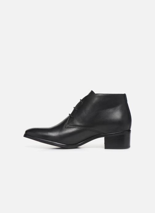 Chaussures à lacets Georgia Rose Walace Soft Noir vue face