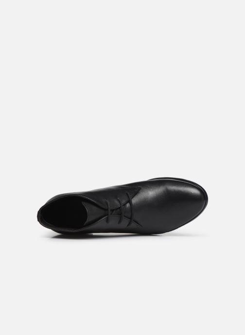 Chaussures à lacets Georgia Rose Walace Soft Noir vue gauche