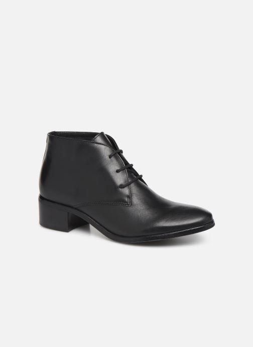 Chaussures à lacets Georgia Rose Walace Soft Noir vue détail/paire