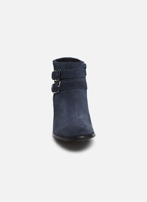 Bottines et boots Georgia Rose Wibuck Soft Bleu vue portées chaussures