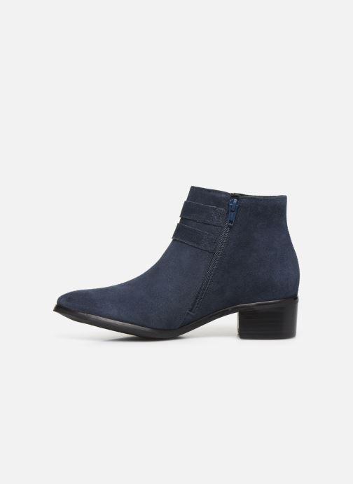 Bottines et boots Georgia Rose Wibuck Soft Bleu vue face