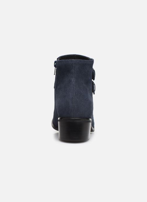 Bottines et boots Georgia Rose Wibuck Soft Bleu vue droite
