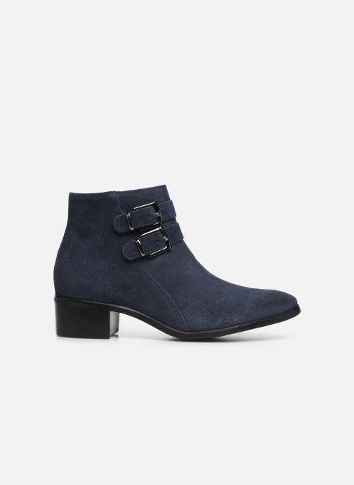 Bottines et boots Georgia Rose Wibuck Soft Bleu vue derrière