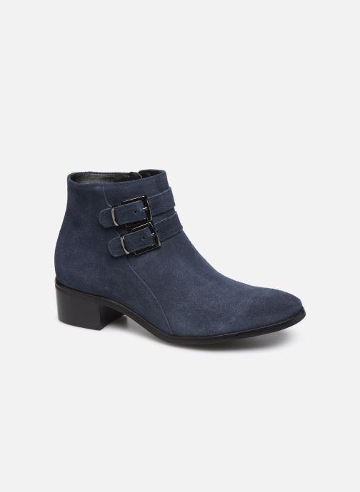 Bottines et boots Georgia Rose Wibuck Soft Bleu vue détail/paire