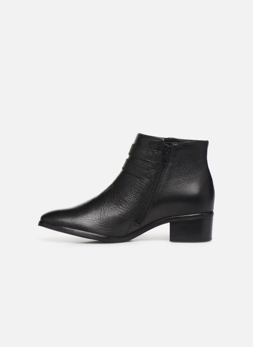 Bottines et boots Georgia Rose Wibuck Soft Noir vue face