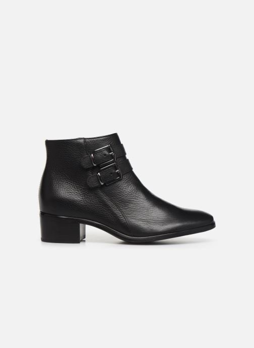 Ankle boots Georgia Rose Wibuck Soft Black back view