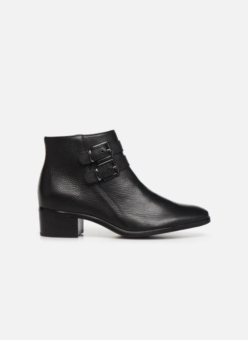Bottines et boots Georgia Rose Wibuck Soft Noir vue derrière