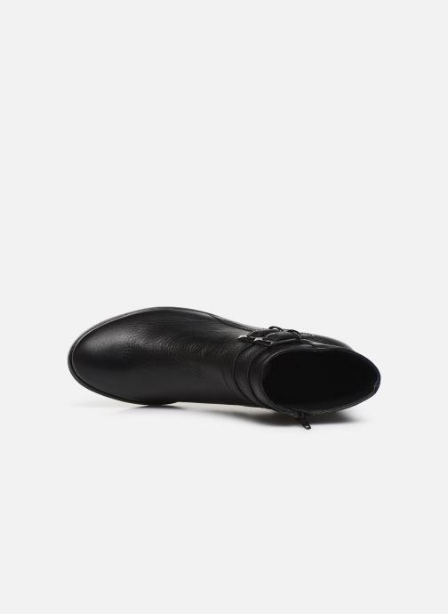 Bottines et boots Georgia Rose Wibuck Soft Noir vue gauche