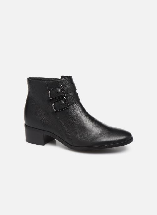 Ankle boots Georgia Rose Wibuck Soft Black detailed view/ Pair view
