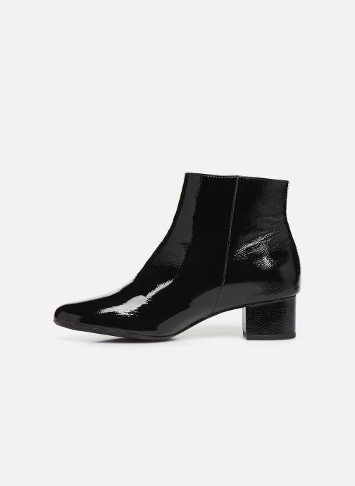 Bottines et boots Georgia Rose Wizip Soft Noir vue face