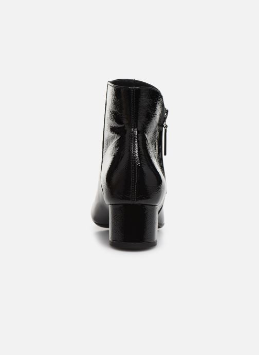 Ankle boots Georgia Rose Wizip Soft Black view from the right