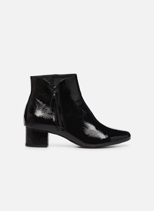 Bottines et boots Georgia Rose Wizip Soft Noir vue derrière
