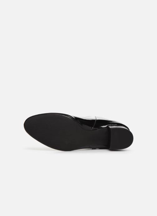 Bottines et boots Georgia Rose Wizip Soft Noir vue haut
