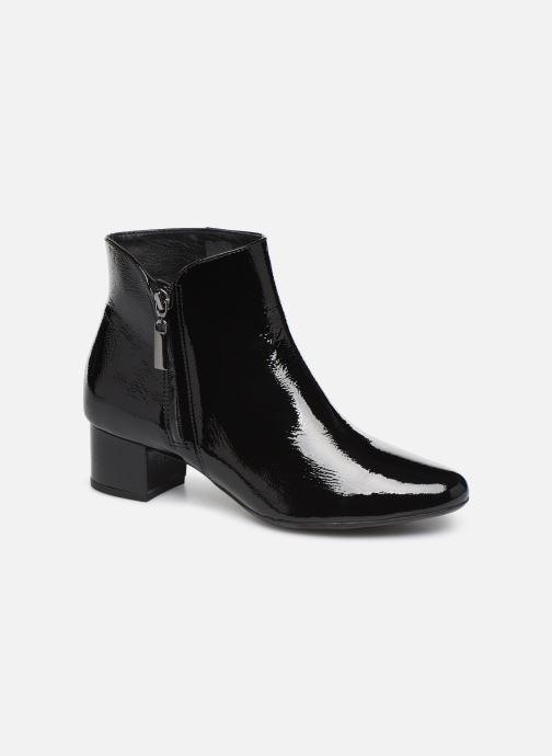 Bottines et boots Georgia Rose Wizip Soft Noir vue détail/paire