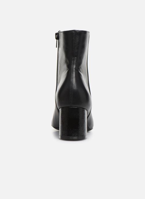 Bottines et boots Georgia Rose Wisquar Noir vue droite