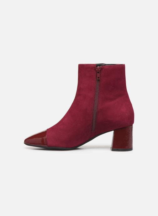 Bottines et boots Georgia Rose Wisquar Bordeaux vue face