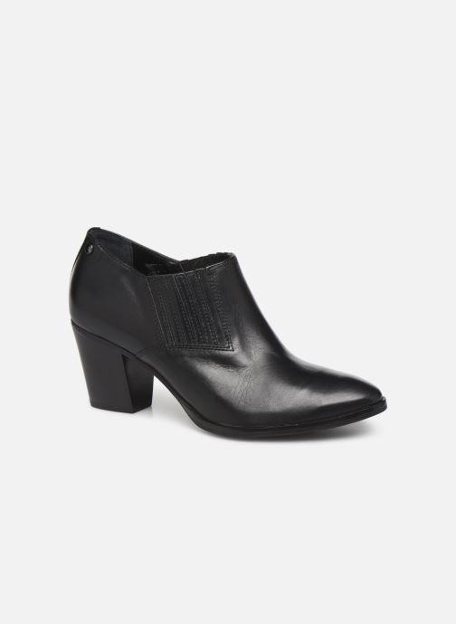 Ankelstøvler Georgia Rose Wouala Soft Sort detaljeret billede af skoene