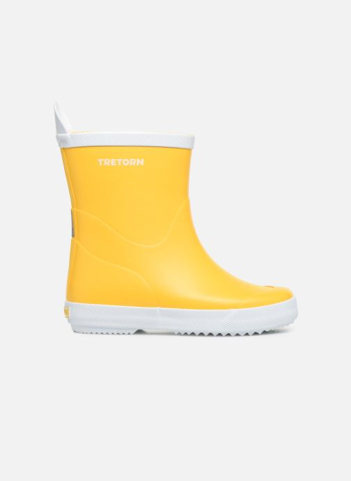 Boots & wellies Tretorn Wings Kid Yellow back view