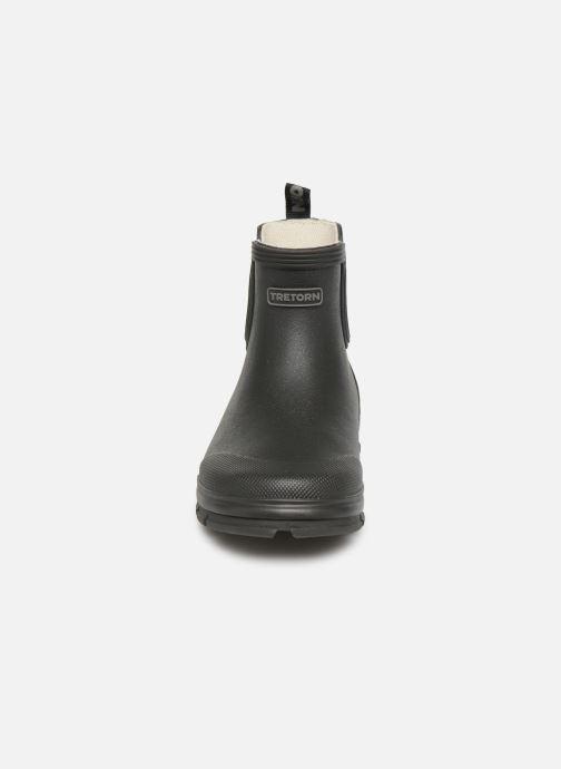 Bottes Tretorn Aktiv Chelsea Noir vue portées chaussures