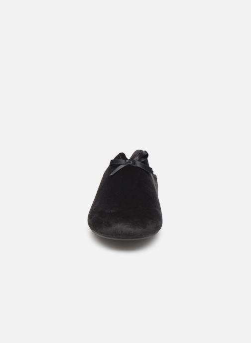 Chaussons Scholl Rachele C Noir vue portées chaussures