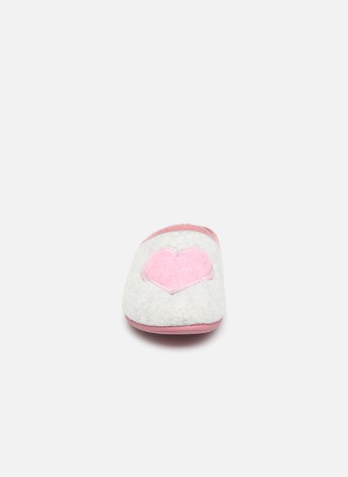 Pantoffels Scholl Creamy Heart C Grijs model
